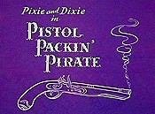 Pistol Packin' Pirate Cartoon Picture