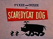 Scaredycat Dog Cartoon Picture
