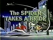 The Spider Takes A Bride Cartoon Picture