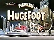 Hugefoot Cartoon Picture