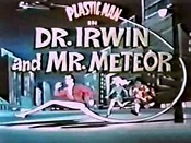 Dr. Irwin And Mr. Meteor Cartoon Picture