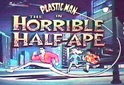 The Horrible Half-Ape Cartoon Picture