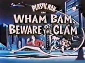 Wham Bam, Beware Of The Clam Free Cartoon Picture
