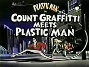 Count Graffitti Meets Plastic Man Cartoon Picture