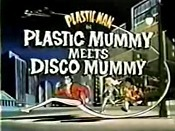 Plastic Mummy Meets Disco Mummy Cartoon Picture