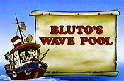 Bluto's Wave Pool Cartoon Character Picture