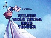 Wilder Than Usual Blue Yonder Cartoon Picture