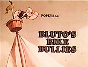 Bluto's Bike Bullies Picture To Cartoon