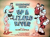 Up A Lizard River Picture Of Cartoon