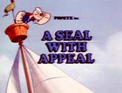 A Seal with Appeal Cartoon Picture