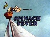 Spinach Fever Cartoon Pictures