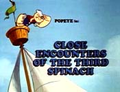 Close Encounters Of The Third Spinach Cartoon Funny Pictures