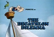 The Decathlon Dilemna Picture Of Cartoon