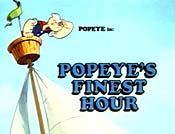 Popeye's Finest Hour Free Cartoon Pictures