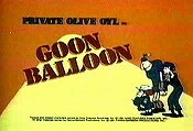 Goon Balloon Picture Into Cartoon