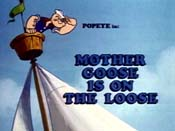 Mother Goose Is On The Loose Free Cartoon Pictures
