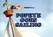 Popeye Goes Sailing Picture To Cartoon