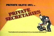 Private Secretaries Picture Into Cartoon