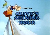 Olive's Shining Hour Free Cartoon Pictures