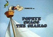 Popeye Snags The Seahag Picture To Cartoon