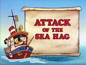 Attack Of The Sea Hag Cartoon Character Picture