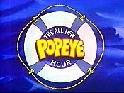 The All New Popeye Hour (Series) Picture Into Cartoon