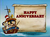 Happy Anniversary Cartoon Character Picture