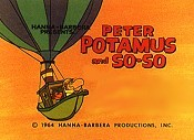 Peter Potamus And his Magic Flying Balloon (Series) Cartoon Character Picture