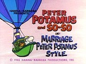 Marriage Peter Potamus Style Cartoon Picture