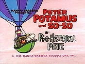 Pre-Hysterical Pete Picture Into Cartoon