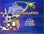 Santa-Napped Picture Of Cartoon
