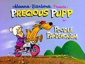 Poodle Pandemonium Free Cartoon Picture
