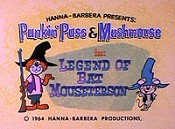 Legend Of Bat Mouseterson Cartoon Picture