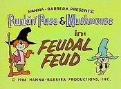 Feudal Feud Cartoon Picture