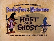 Host Of A Ghost Picture Into Cartoon