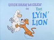 The Lyin' Lion Cartoon Picture