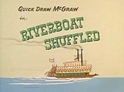 Riverboat Shuffled Pictures In Cartoon