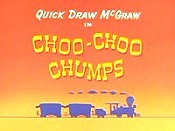 Choo-Choo Chumps Cartoon Character Picture