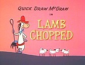 Lamb Chopped Cartoon Picture