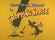 Chopping Spree Cartoon Picture