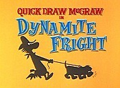 Dynamite Fright Cartoon Character Picture