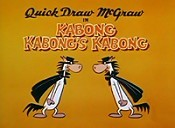 Kabong Kabong's Kabong Picture Of Cartoon
