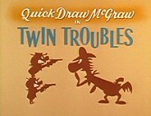 Twin Troubles Cartoon Character Picture