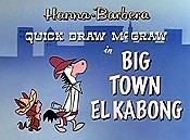 Big Town El Kabong Cartoon Picture