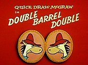 Double Barrel Double Cartoon Picture