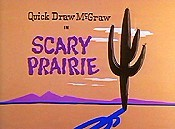Scary Prairie Cartoon Character Picture