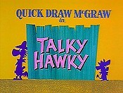 Talky Hawky Cartoon Picture