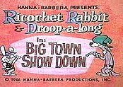 Ricochet Rabbit Free Cartoon Picture
