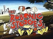 The Three Robonic Stooges (Series) Picture Of Cartoon