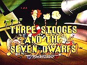 Three Stooges And The Seven Dwarves Picture Of Cartoon